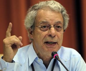 El teólogo brasileño, Frei Betto, ofreció una conferencia magistral.