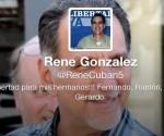 Aclara René González situación sobre cuenta a su nombre en Twitter