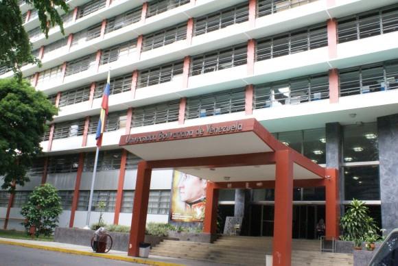 La sede en Caracas de la Universidad Bolivariana
