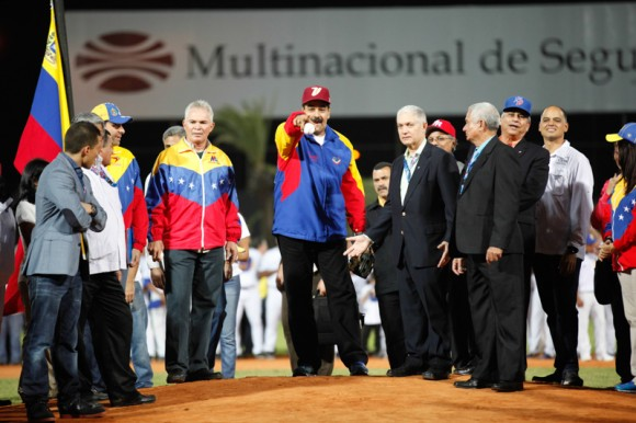 Inauguración de la Serie del Caribe en Isla Margarita. FOTO: Efrain Gonzalez/ PRENSA MIRAFLORES