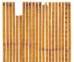 Encuentran tabla de multiplicar más antigua del mundo