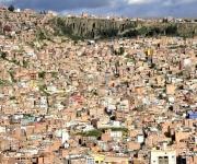 La Paz, según estudios y excavaciones arqueológicas, fue erigida sobre asentamientos tiwanakotas, collas e incaicos. Foto: Kaloian.