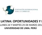 América Latina, oportunidades y desafíos
