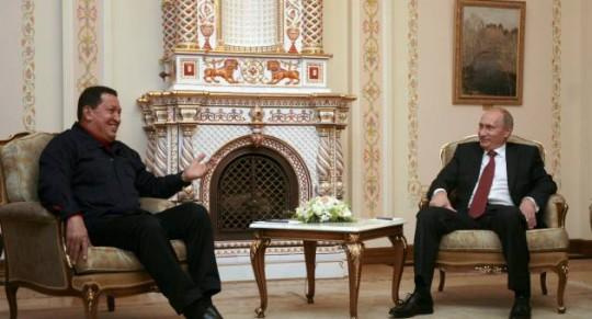 Chávez con Putin