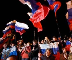 El 93% de los crimeos vota por la adhesión a Rusia. Foto: © REUTERS Thomas Peter