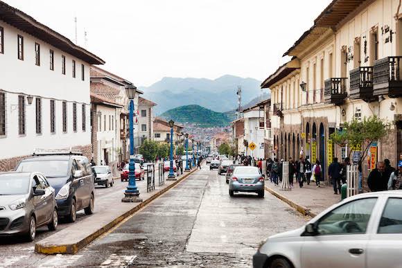 4 Avenida El Sol en el casco histórico de la ciudad. Foto: Alex Castro