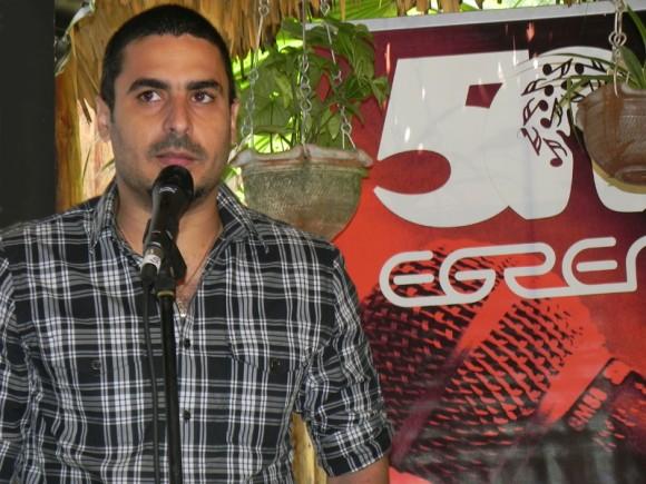 """Elaín Morales, presentará en concierto su  más reciente producción discográfica """"Mi Paraíso el 18 de Abril,  en la Sala Covarrubias del Teatro Nacional de Cuba. Foto: Marianela Dufflar"""
