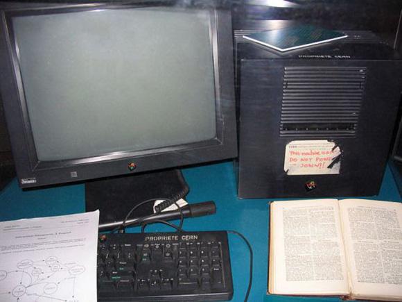 El primer servidor web. Foto: AP (Archivo).