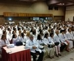 Integrantes del programa Ms Médicos que´van a laborar en el estado brasileño de Bahía. Foto: Yuri Girardi/G1
