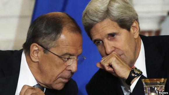 Dialogarán sobre crisis ucraniana Lavrov y Kerry