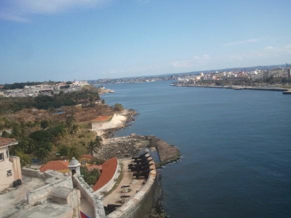 La bahía habanera. Foto: Guillermo Cortés Menéndez