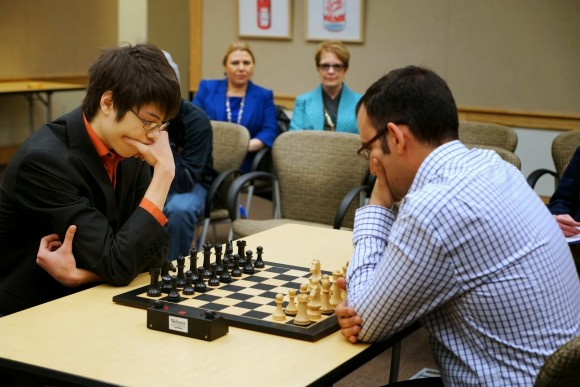 Cuban Chess GM Dominguez beat US Ray Robson in Match