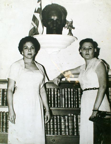 Melba Hernández y Haydeé Santamaría