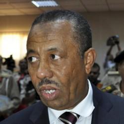 El ministro de Defensa libio, Abdulá al Zani, en Trípoli. EFE/Archivo