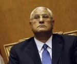 Presidente interino de Egipto