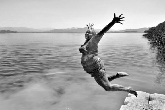 El fotógrafo turco Alpay Erdem ganó en la categoría abierta de la sección Sonrisas.