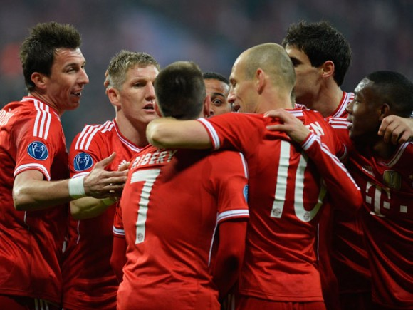 Bayern de Munich frente a Arsenal.