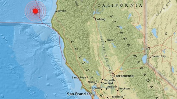 california terremoto