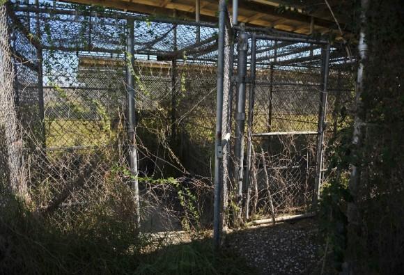 Una imagen del Campo X-Ry de Guantánamo, en el 2014.