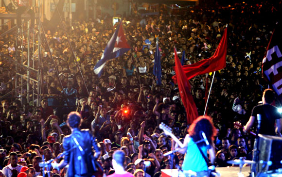Dedican concierto a antiterroristas cubanos (+Video)