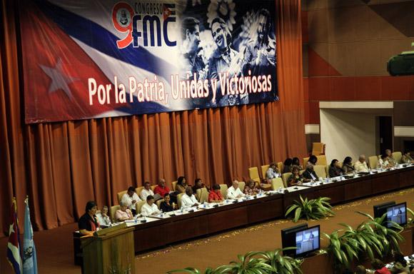 Congreso de la Federación de Mujeres Cubanas. Foto: Ismael Francisco / Cubadebate.
