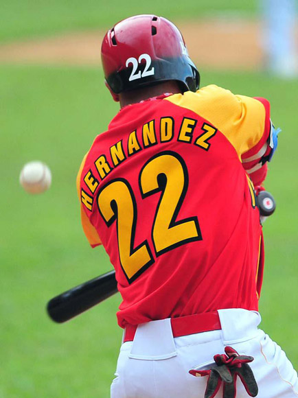 Hernández, destapado.