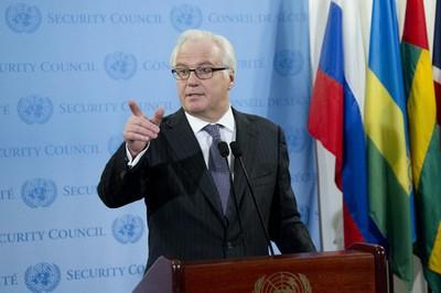 Embajador ruso ante la ONU, Vitali Churkin, desestimó resultado de la votación.