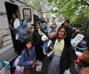 Gitanos en Suecia. Foto: Agencias.