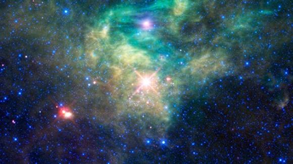 Galaxia. Foto: NASA