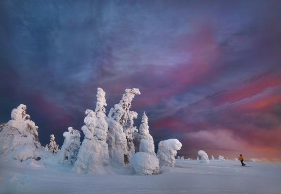 El invierno ruso que se vive en los Urales es algo extremo. Serguéi Makurin.