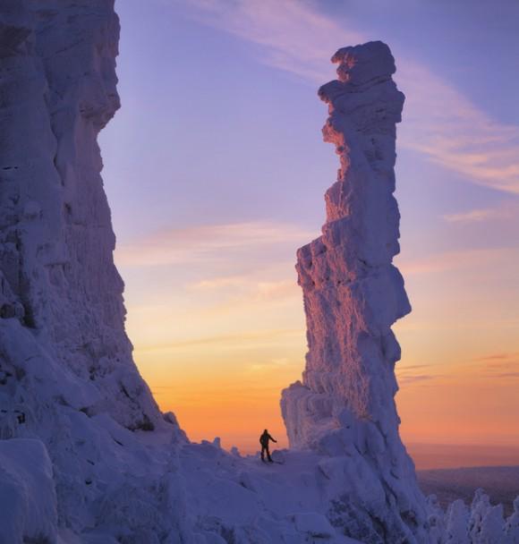 Son la frontera entre Europa y Asia y una de las cadenas montañosas más antiguas de la Tierra. Foto: Serguéi Makurin.