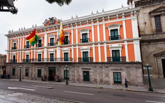 Palacio de Gobierno, conocido también como Palacio Quemado