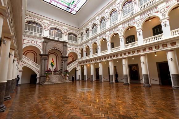 Interior del Palacio de Gobierno
