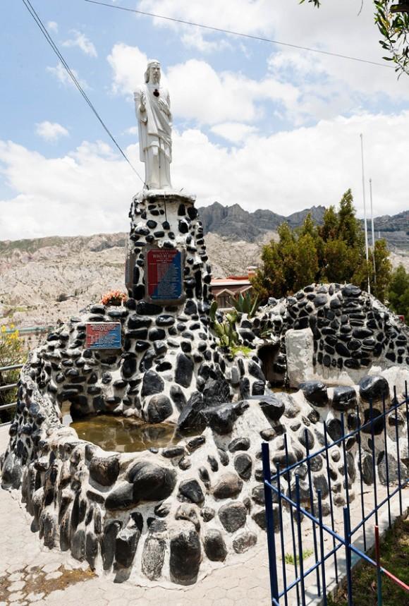 Monumento de la Unión Fraterna de Alto Obrajes