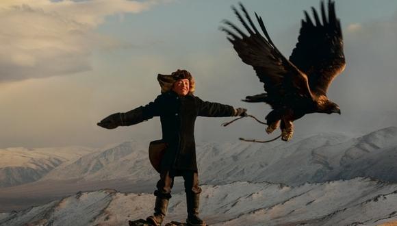 La habilidad de cazar con águilas, cuenta Svidensky, consiste en aprovechar una fuerza impredecible de la naturaleza.