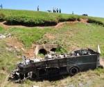 Accidente en la carretera a Soroa. Foto Humberto Líster