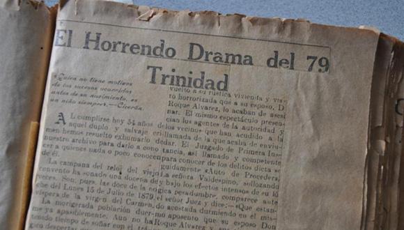 Además de que la prensa de la época reflejara lo acontecido, 54 años después los cronistas recordaron el terrible crimen. Foto: Vicente Brito.