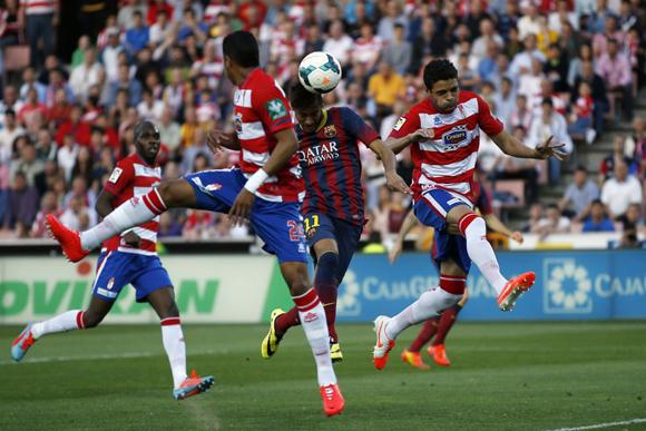 Neymar fue el mejor jugador del Barcelona. Foto: Reuters