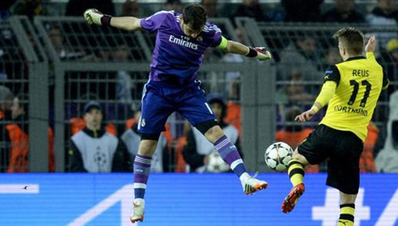 Casillas no pudo frenar la ofensiva de Reus.