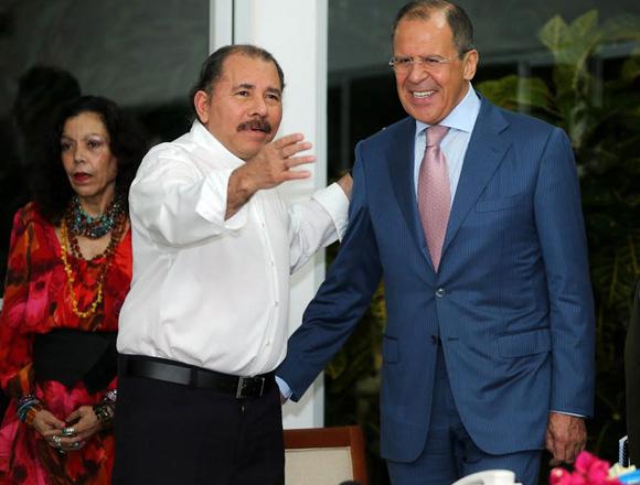 Daniel Ortega-Canciller de Rusia