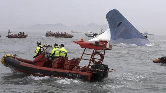 El buque Sewol  (1)