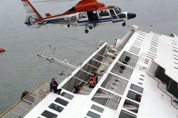 Accidente marítimo en costa de Corea del Sur