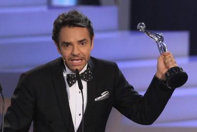 El mexicano Eugenio Derbez recibe al Platino al mejor actor