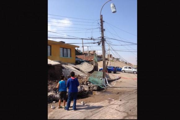 Terremoto en Chile: Foto: AFP
