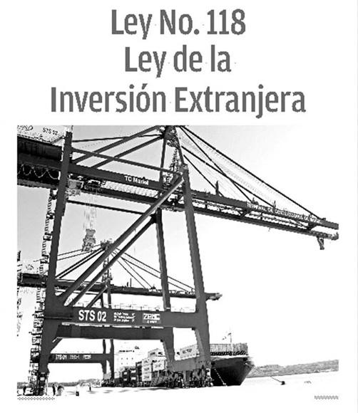 Publica la Gaceta Oficial Ley de la Inversión Extranjera (+ PDF)
