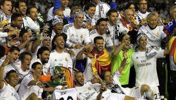 Madrid festeja el título en la Copa del Rey A