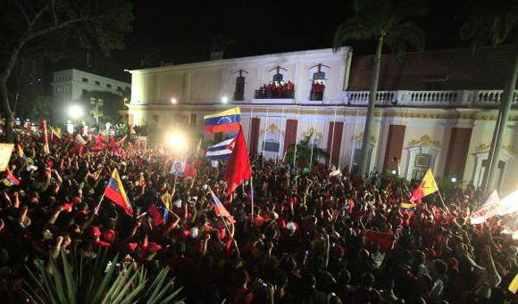 Movilización en el Día de la Dignidad en Caracas