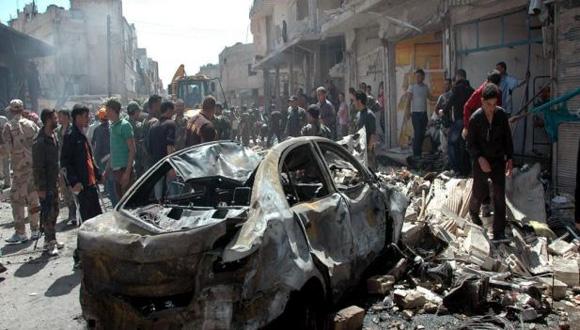 Muertes en Siria más