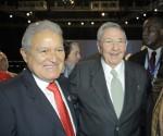 Raúl Castro y Salvador Sánchez Cerén Portada