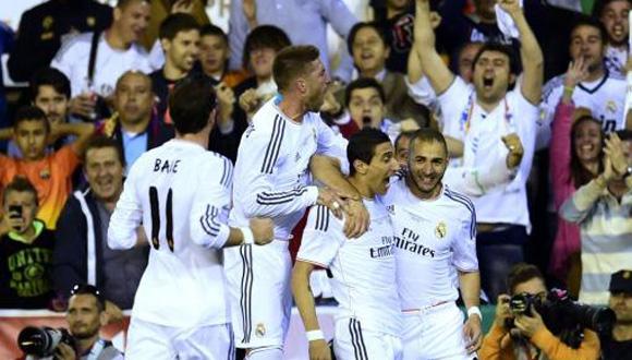Real Madrid gana la copa del rey